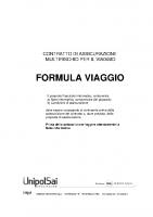 FORMULA VIAGGIO